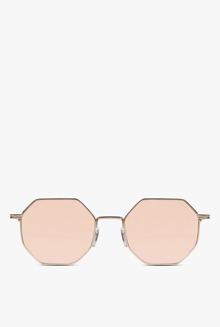 KOMONO Monroe Sunglasses - ROSE GOLD
