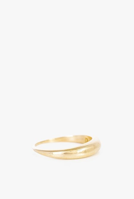 I Like It Here Club Pinky Promise Ring - BRASS