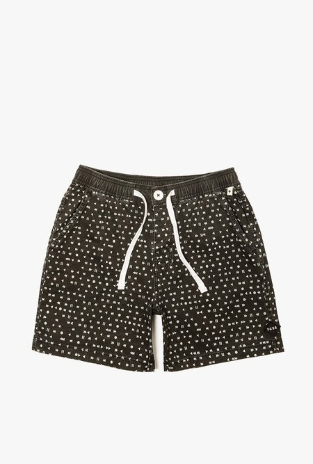 critical slide society 8 Track Boardshort - INK