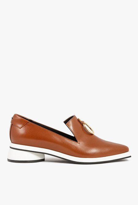 Reike Nen Ring Loafer - Brown/White