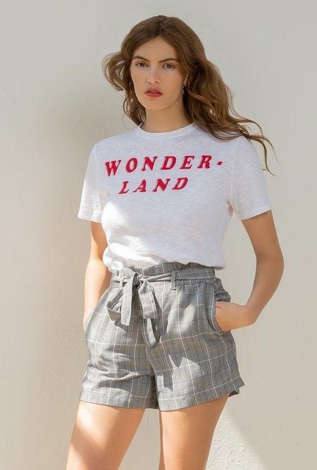 Zoe Krassen Boyfriend Fit T-shirt - White
