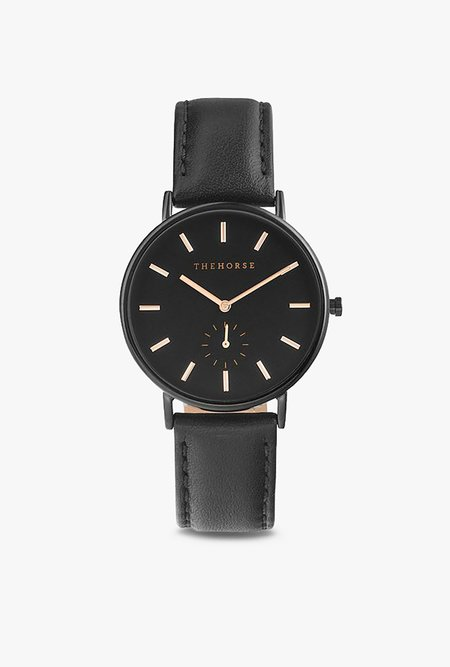 The Horse Watch The Classic Watch - Black/Black