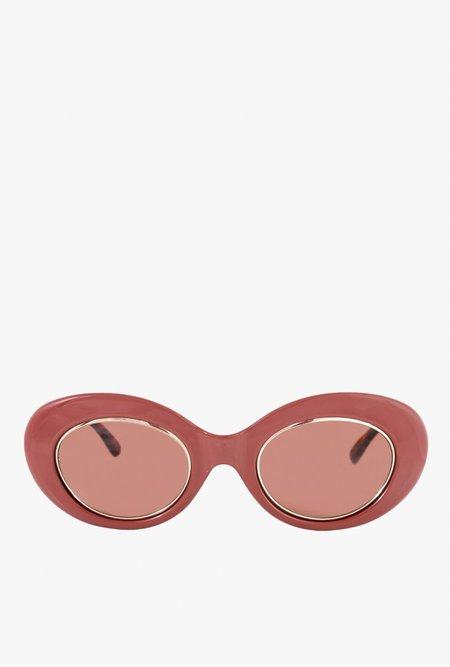 Crap Eyewear The Love Tempo Sunglasses - Oxblood
