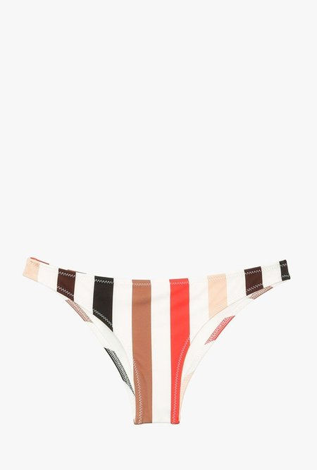 Solid and Striped The Rachel Bottom - Lipstick