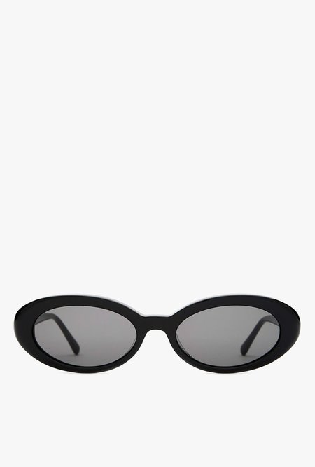 Crap Eyewear The Sweet Leaf Sunglasses - BLACK/GREY