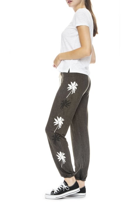 Sundry Palm Tree Sweatpant - Grey