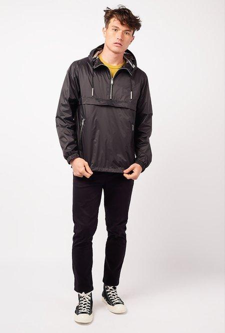THE VERY WARM Half Zip Pop Over Jacket