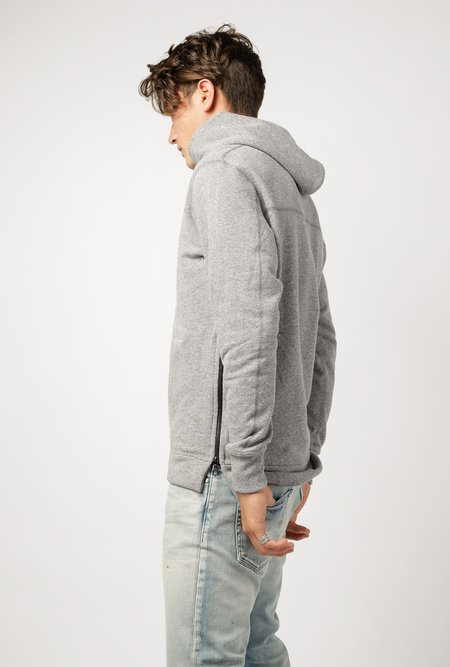 John Elliott Hooded Villain Sweatshirt - Grey