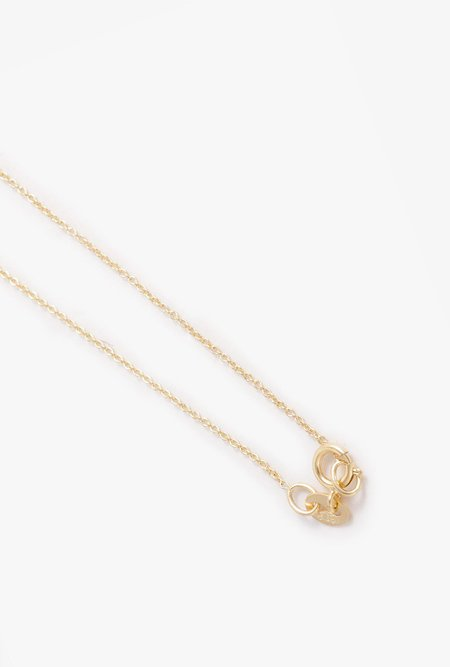 Gabriela Artigas Mini Rising Tusk Diamond Necklace - 14k Gold/Diamond