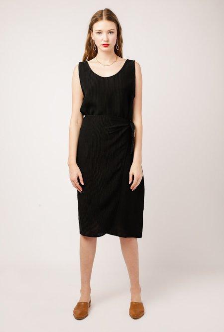 Priory Nett Dress - BLACK