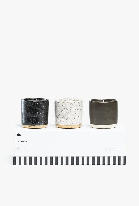 Norden Candle Set of 3