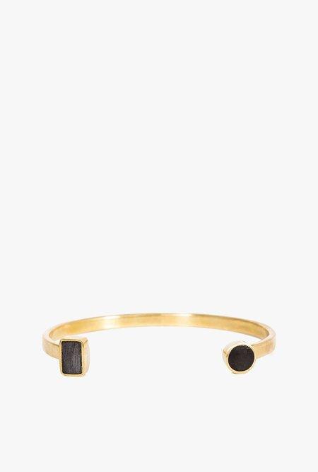 SOKO Open Mari Cuff Bracelet - BRASS