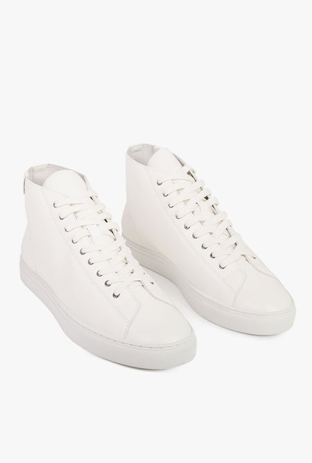 House of Future Original Hi Top Shoe - WHITE
