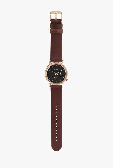 KOMONO Walther Watch - Burgundy