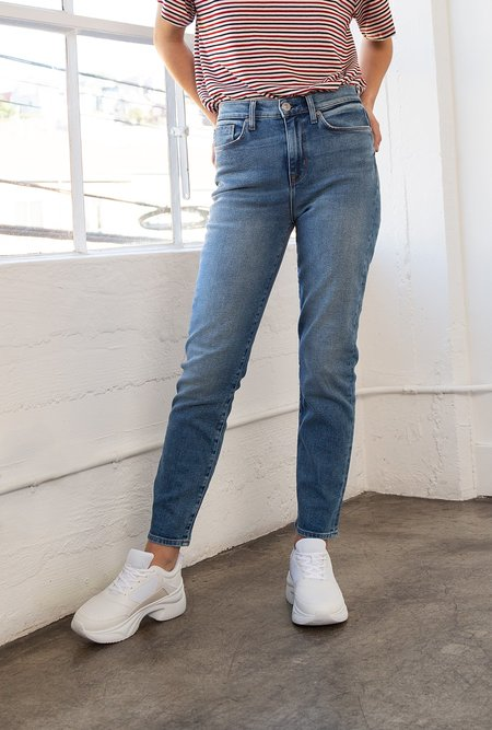 Hudson Jeans Zoeey High Rise Straight Crop - Blue