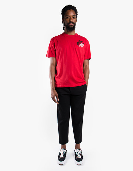 McQ Alexander McQueen Dropped Shoulder Tee - Red