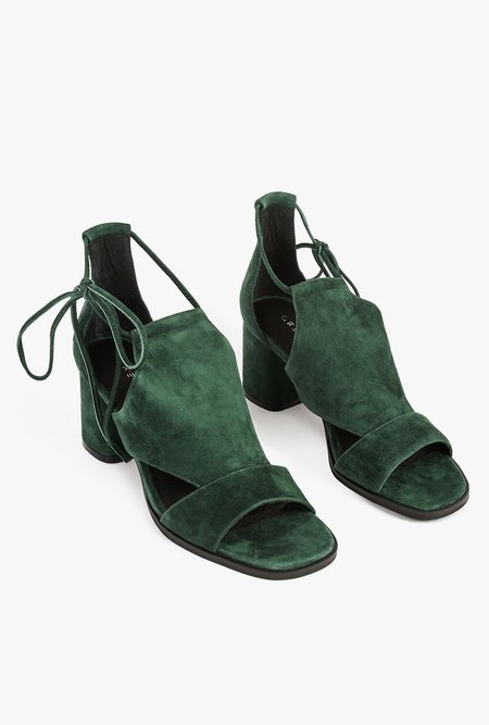 Grey City Reba Sandal - Emerald