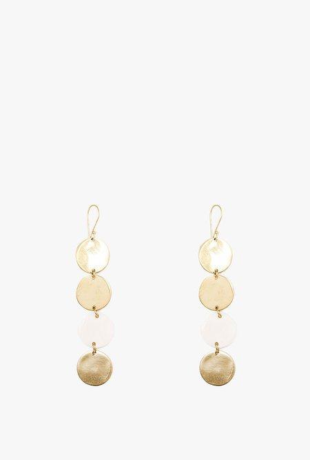 SOKO Sosi Dangle Earrings - Brass