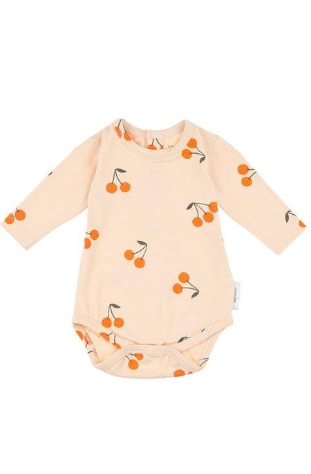 Kids Tinycottons Cherries Long Sleeve Body