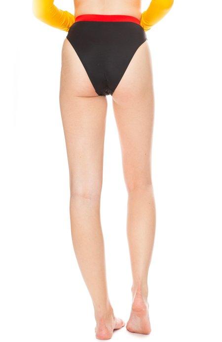 SOLID & STRIPED X RE/DONE The Malibu Bikini Bottom - Moto