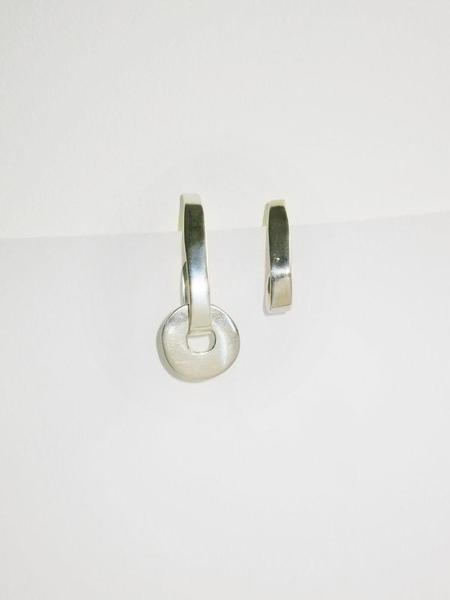 Hernán Herdez Oval Hoops No.3 Earrings