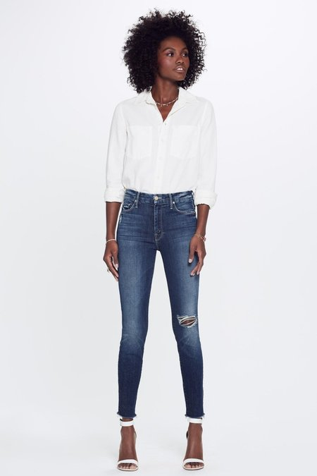 Mother Denim High Waisted Looker - Close To The Edge