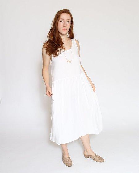 Me & Arrow Tent Dress - White