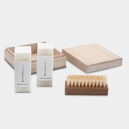 SyuRo Brush and Soap Kit