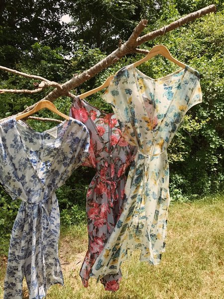 CONRADO Anne Floral Robe