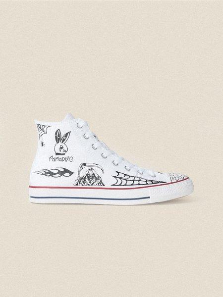 Converse Sean Pablo CTAS Pro Hi Sneakers - White/Black/White