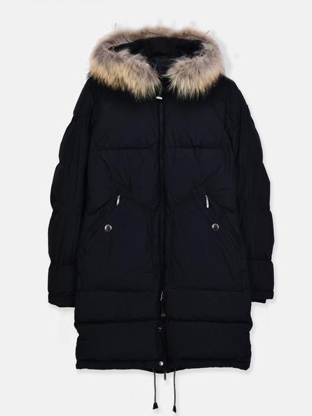 Parajumpers Light Long Bear Coat - Black