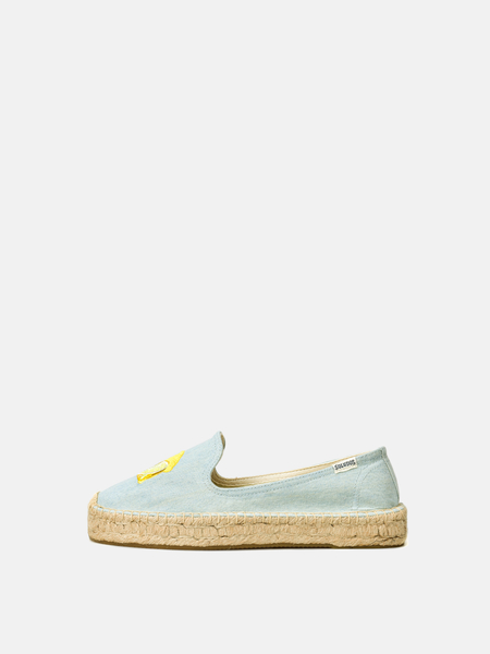 Soludos LEMONS SMOKING SLIPPER - CHAMBRAY