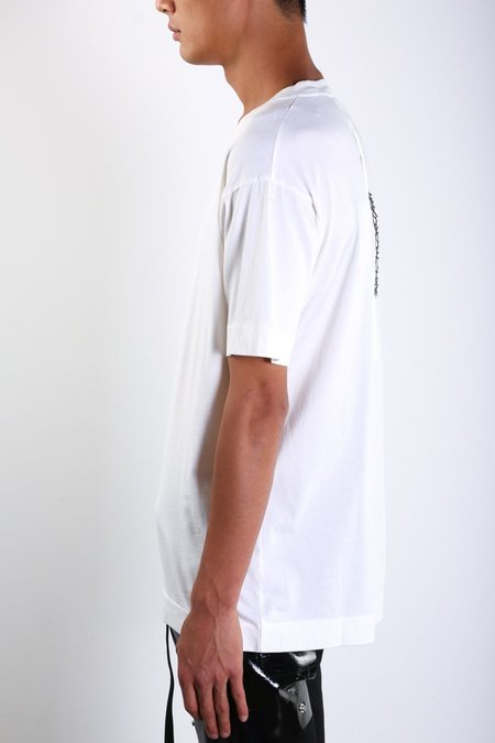 1017 ALYX 9SM Flag in Thorn Tee - WHITE