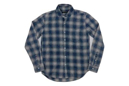Milworks Check Shirt - Indigo Dyed