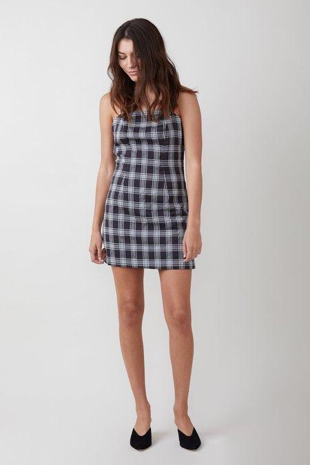 C/meo Collective Solace Mini Dress - Black Check