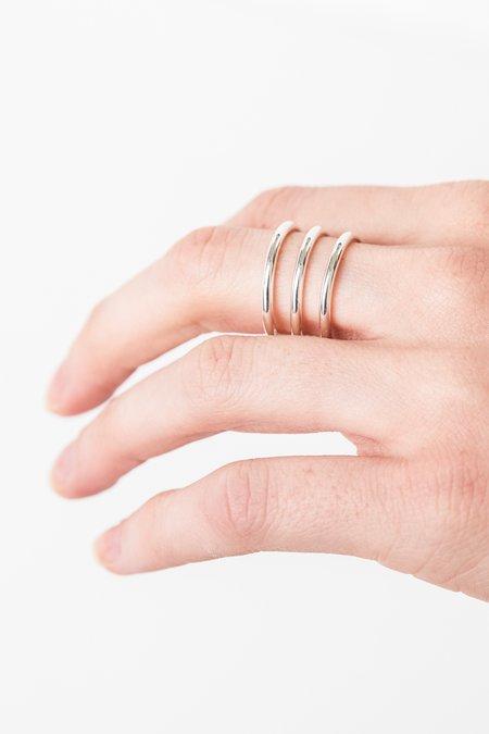 Thatch Aurora Cuff Ring - Silver