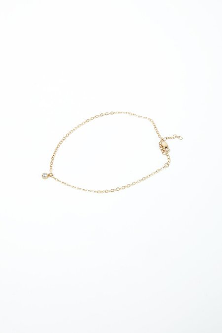 Thatch Joey Chain Anklet - Gold