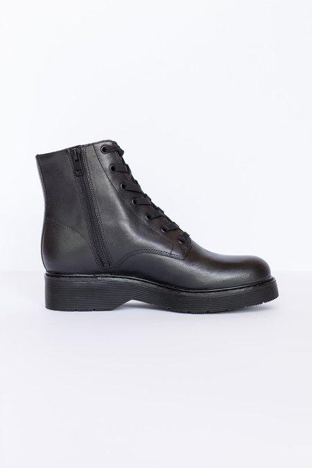 Vince Monastir Combat Boot - Black
