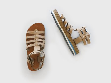 ĒSIOT Natural Gladiator Sandals