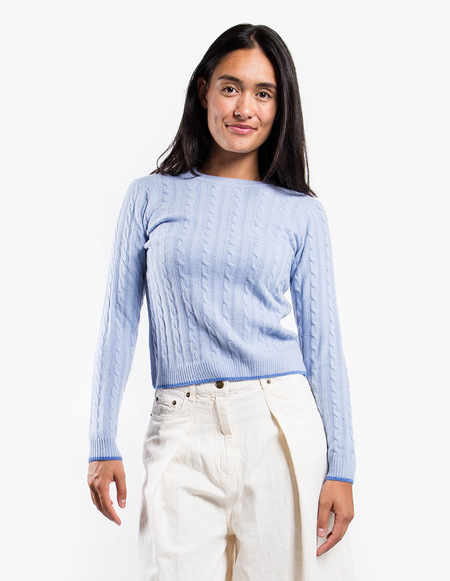 Wood Wood Mare Sweater - Light Blue