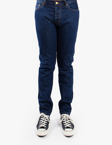 Han Kjøbenhavn Tapered Jeans - Medium Blue