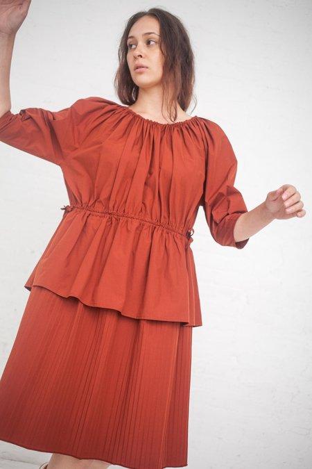 Caron Callahan Judith Dress - Rust