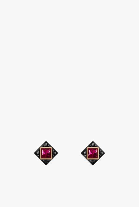 Selin Kent Sabina Stud Earrings - 14k Rose Gold