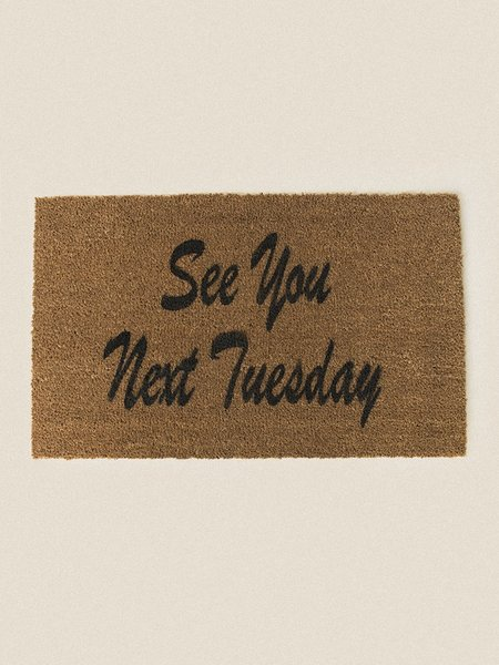 PLVCE Goods General Admission See You Next Tuesday Door Mat