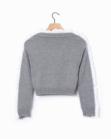 Philosophy di Lorenzo Serafini Button Sweater - Grey
