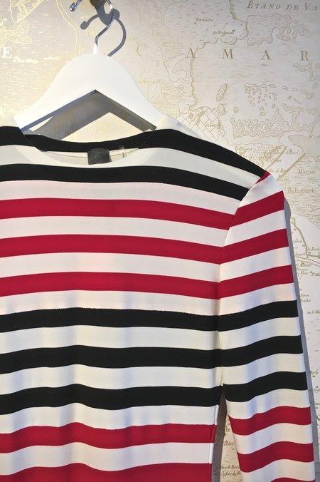 Norma Kamali Jersey Dress - Stripe