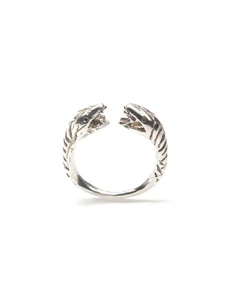 We Who Prey Snake Ring - STERLING SILVER