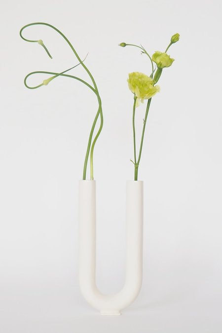 VALERIA VASI You Vase Matte - WHITE