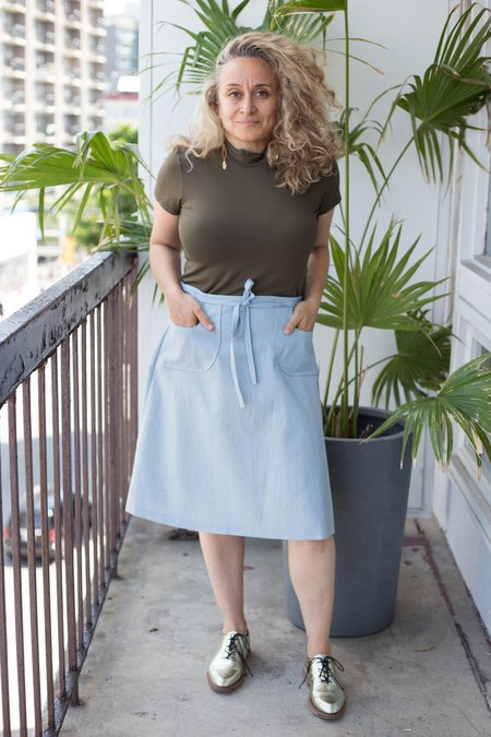 Hannah Isolde Goodman Sadie Skirt - Blue