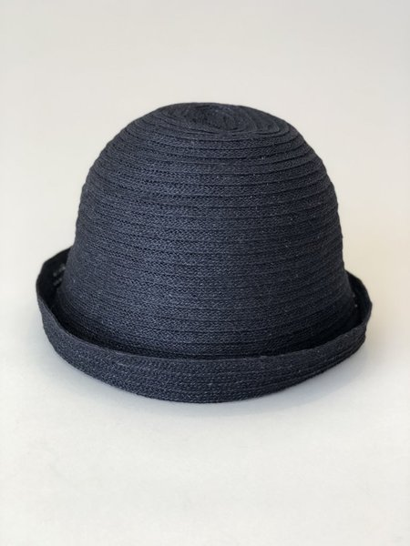 Mature Hat Free Hat - Black Jute